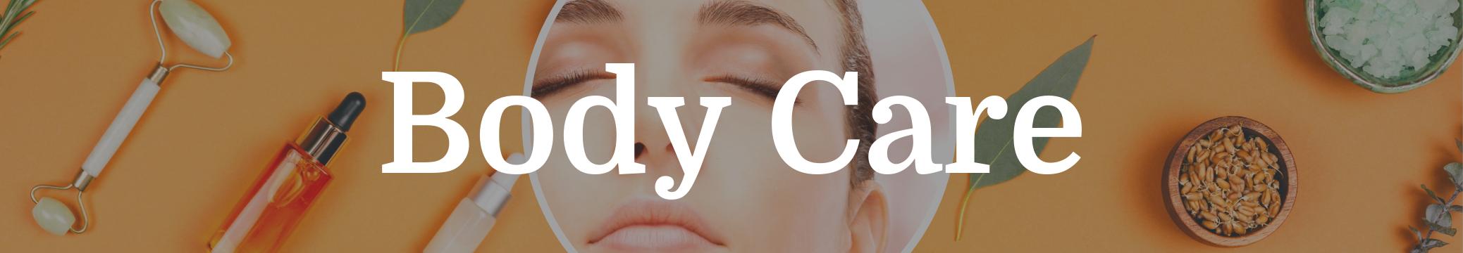 body care header